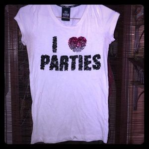 Parties shirt Pink small